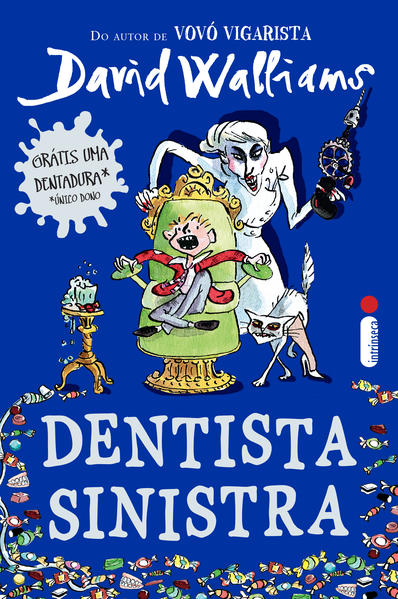 Dentista Sinistra, livro de David Walliams