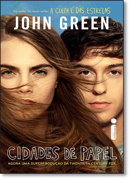 Cidades de Papel - Capa do Filme, livro de John Green