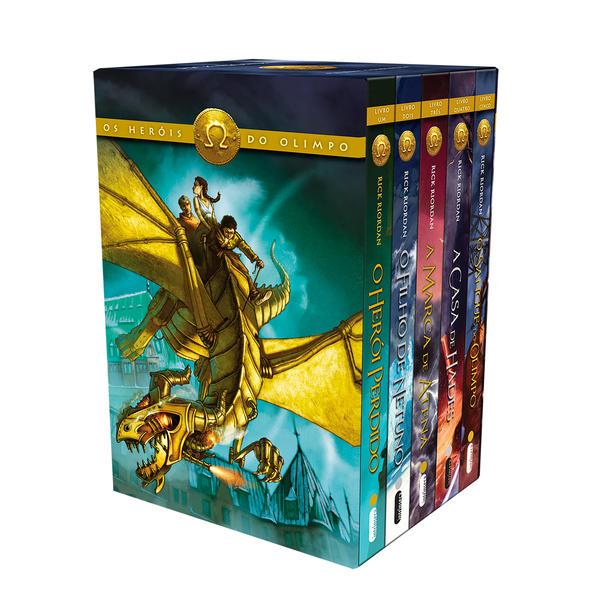 Box Os Heróis do Olimpo, livro de Rick Riordan