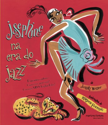 Josephine na era do jazz, livro de Jonah Winter