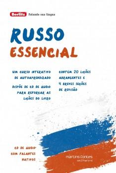 Russo essencial + CD, livro de Berlitz
