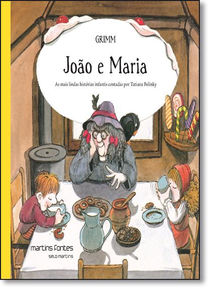 João e Maria, livro de Irmãos Grimm