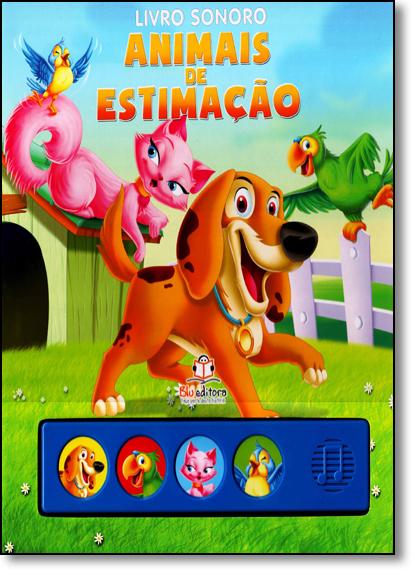 Animais de Estimação - Livro Sonoro, livro de Blu Editora