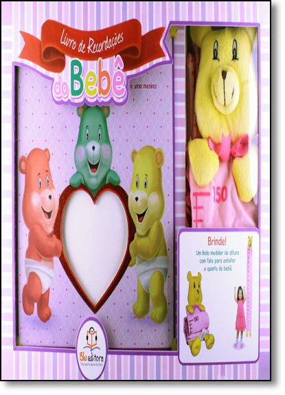Livro de Recordações do Bebê: É uma Menina, livro de Blu Editora
