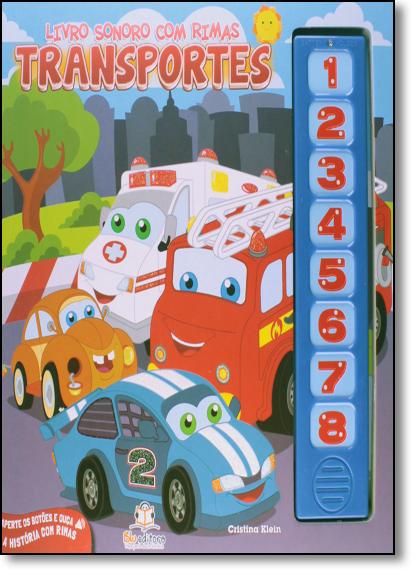 Transportes - Livro Sonoro, livro de Cristina Klein