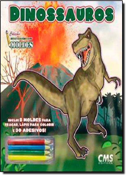 Dinossauros - Coleção Desenho com Moldes, livro de Christian Sperli