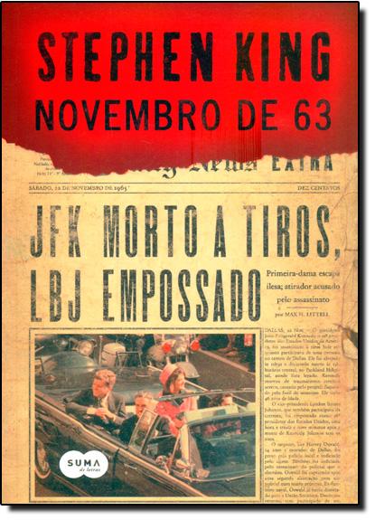 Novembro de 63, livro de Stephen King