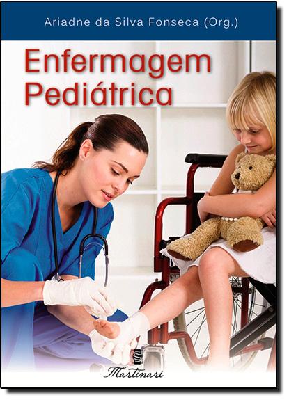 Enfermagem Pediátrica, livro de Ariadne da Silva Fonseca