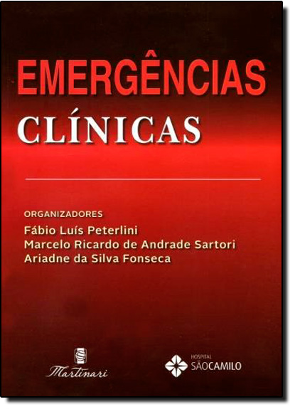 Emergências Clínicas, livro de Fábio Luís Peterlini