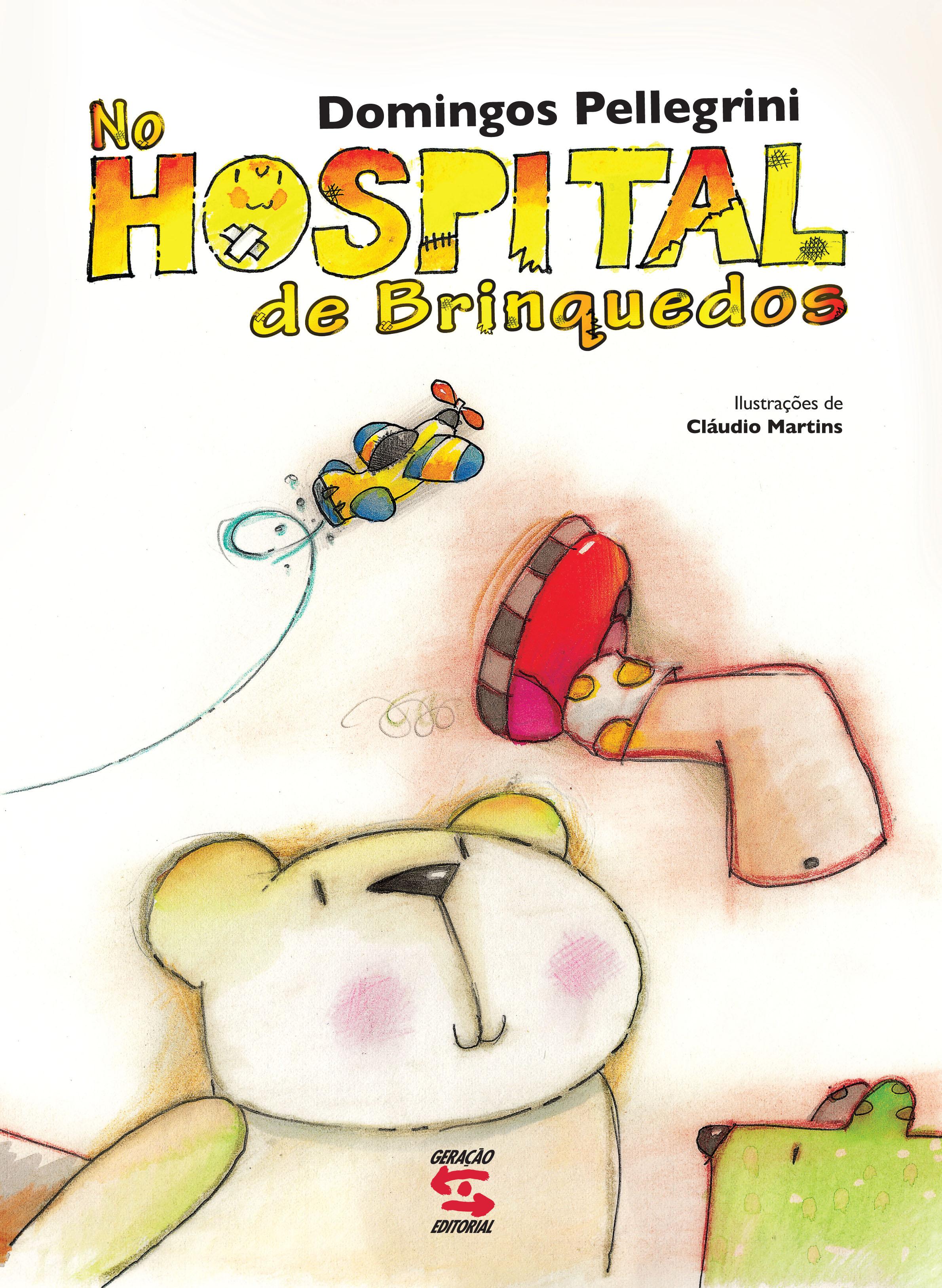 No Hospital dos Brinquedos, livro de Domingos Pellegrini