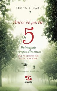 ANTES DE PARTIR - 2ª EDIÇÃO, livro de BRONNIE WARE