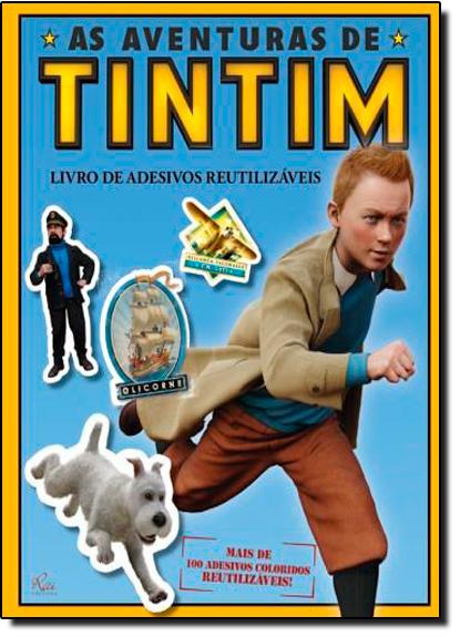 Aventuras de TinTim: Livro de Adesivos Reutilizaveis, livro de RAI