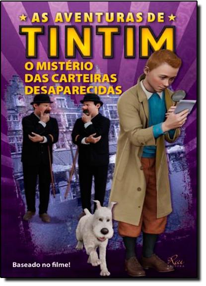 Aventuras de Tintim, As: o Mistério das Carteiras Desaparecidas, livro de RAI