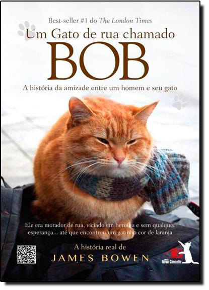 Gato de Rua Chamado Bob, Um: A História da Amizade Entre Um Homem e Seu Gato, livro de James Bowen