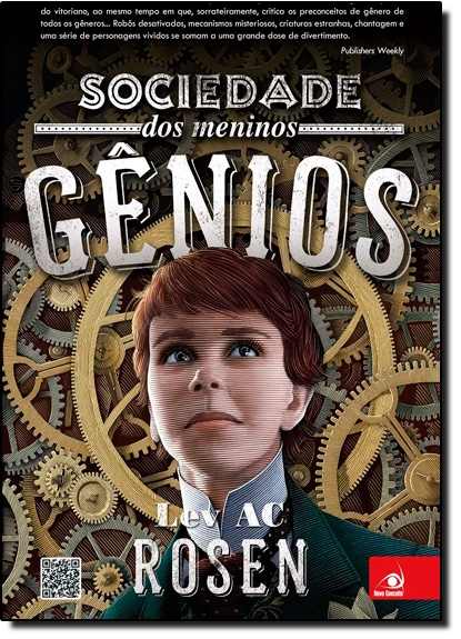 Sociedade dos Meninos Genios, livro de Lev Ac Rosen