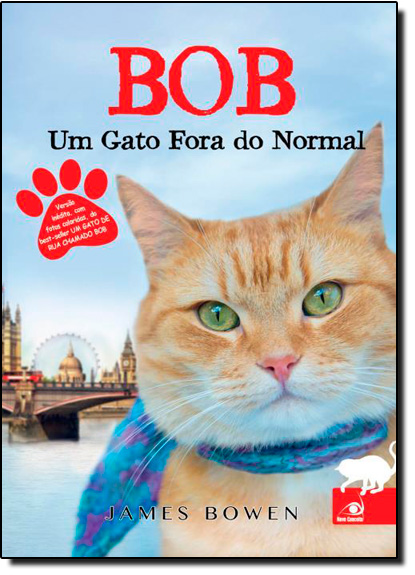 Bob: Um Gato Fora do Normal, livro de James Browen