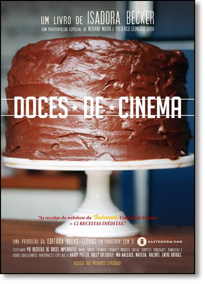 Doces de Cinema, livro de Isadora Becker