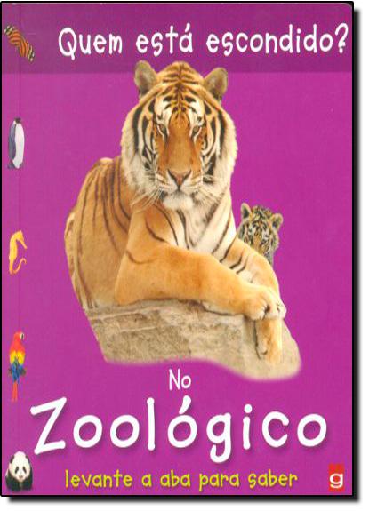 Quem está Escondido? No Zoológico, livro de Chez Picthall