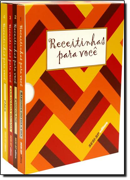 Kit Receitinhas Para Você, livro de Sesi