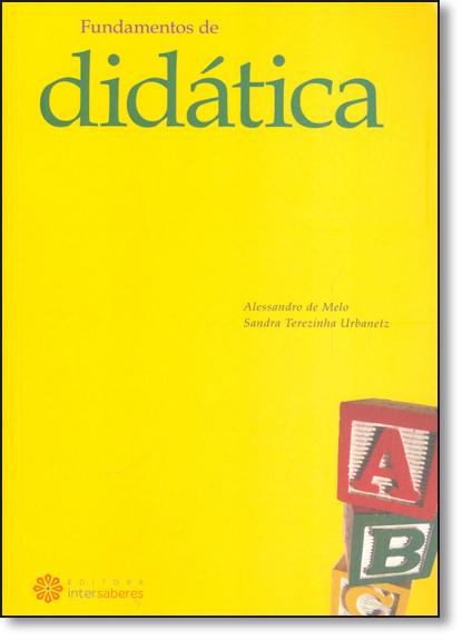 Fundamentos de Didática, livro de Alessandro de Melo
