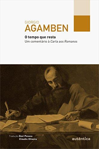 O Tempo que Resta, livro de Giorgio Agamben