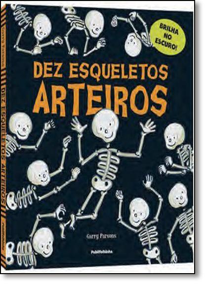 Dez Esqueletos Arteiros, livro de Annette Rusling