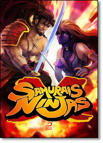 Samurais x Ninjas, livro de Eduardo Kasse