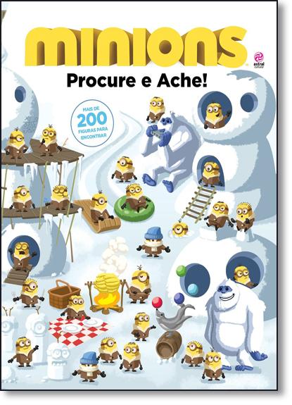 Minions: Procure e Ache!, livro de Natália Ortega