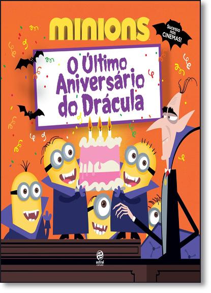 Minions: O Último Aniversário de Drácula, livro de Natália Ortega