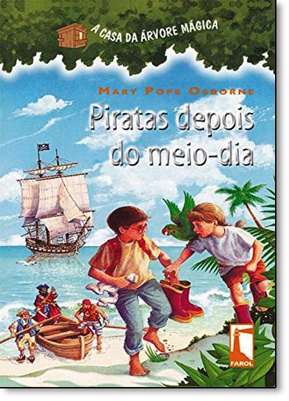 Piratas Depois do Meio-dia, livro de Mary Pope Osborne