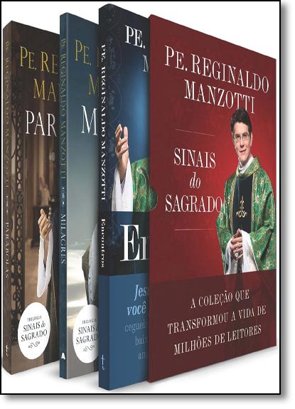 Box Sinais do Sagrado: A Coleção que Transformou a Vida de Milhões de Leitores, livro de Reginaldo Manzotti