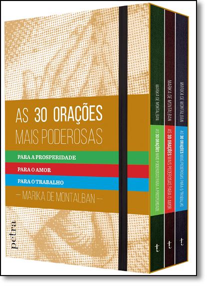 Box: As 30 Orações Mais Poderosas - 3 Volumes, livro de Marika de Montalban