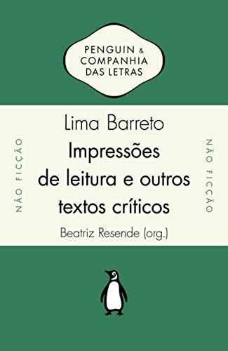 Impressões de Leitura e Outros Textos Críticos, livro de Lima Barreto