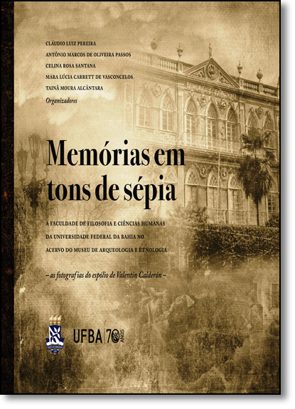 Memórias em Tons de Sépia, livro de Cláudio Luiz Pereira
