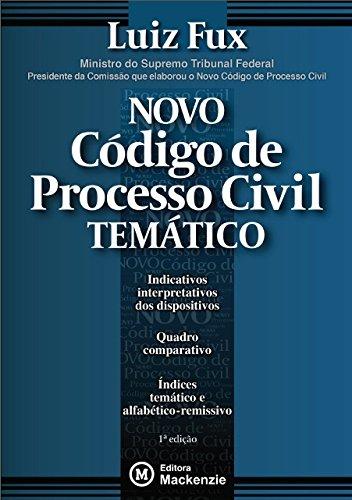 Novo Código de Processo Civil Temático, livro de Luiz Fux