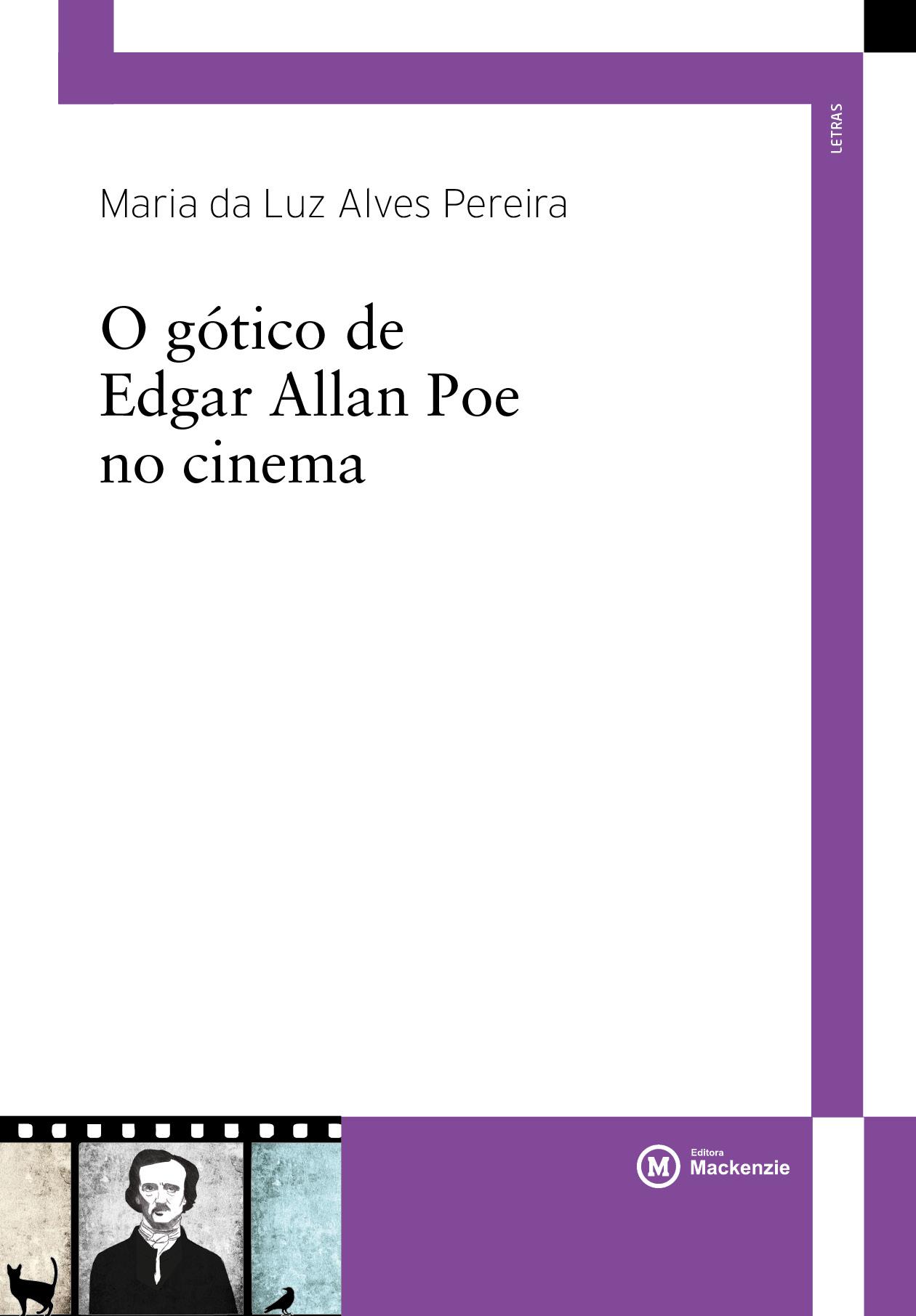 O gótico de Edgar Allan Poe no cinema, livro de Maria da Luz Alves Pereira
