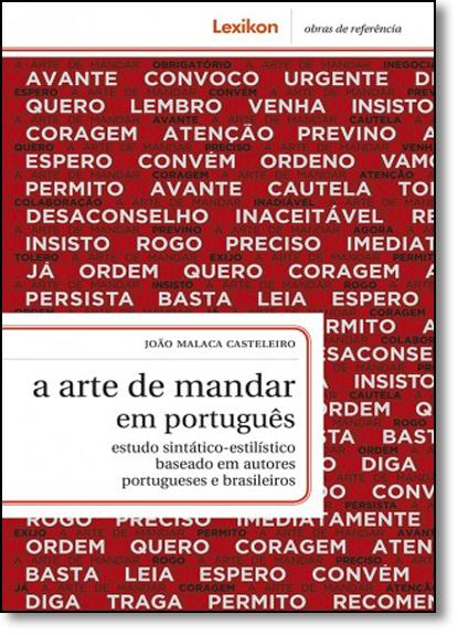 Arte de Mandar em Português, A, livro de João Malaca Casteleiro
