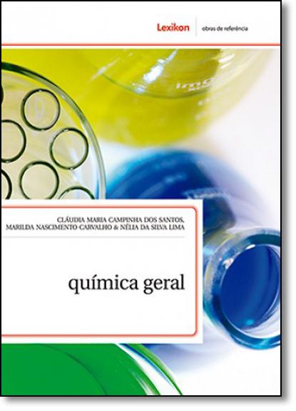 Química Geral, livro de Cláudia Maria Campinha dos Santos