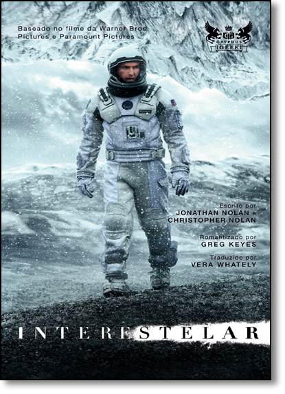 Interestelar, livro de Christopher Nolan