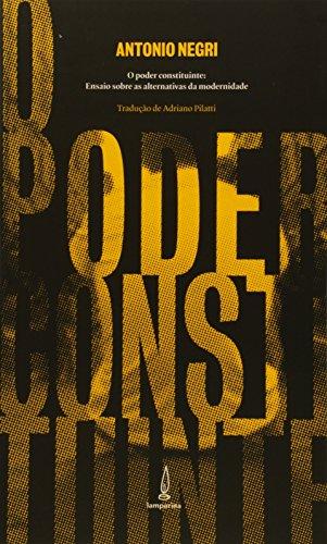 Poder Constituinte, livro de Antonio Negri