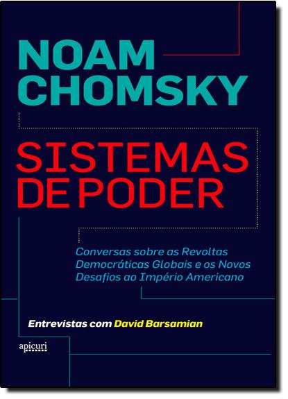 Sistemas de Poder, livro de Noam Chomsky