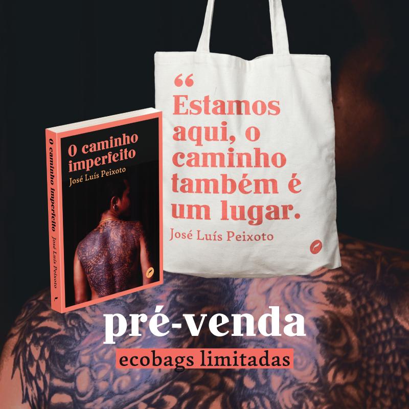 Ecobag JOSE LUIS PEIXOTO, livro de