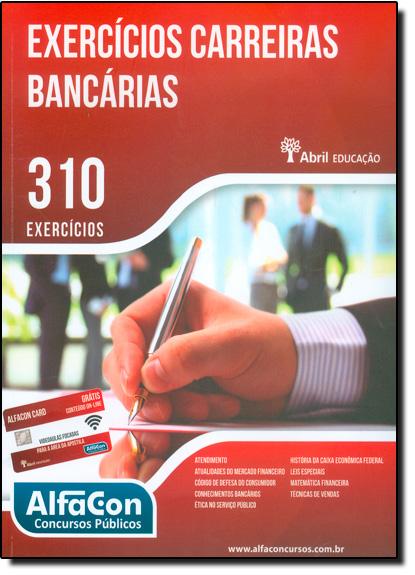 Exercícios Carreiras Bancárias 310 Exercícios, livro de Editora Abril