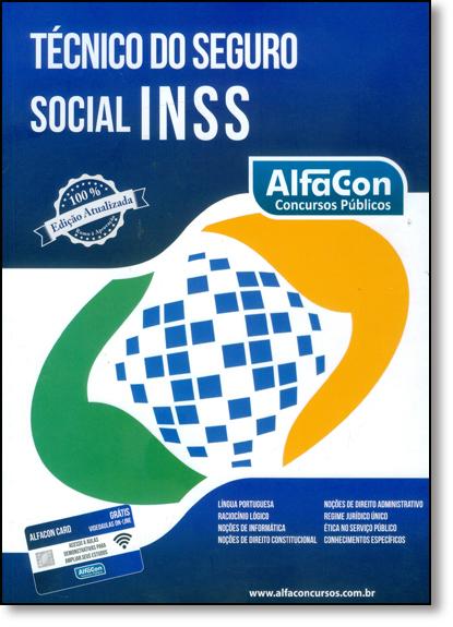 Técnico do Seguro Social Inss, livro de Equipe Alfacon