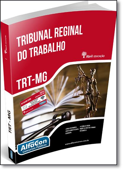 Trt Minas Gerais: Técnico Judiciário, livro de Equipe Alfacon