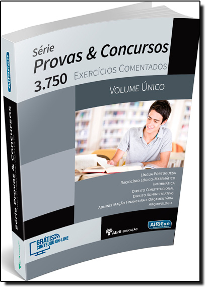 3.750 Exercícios Comentados - Volume Único - Série Provas e Concursos, livro de Equipe Alfacon