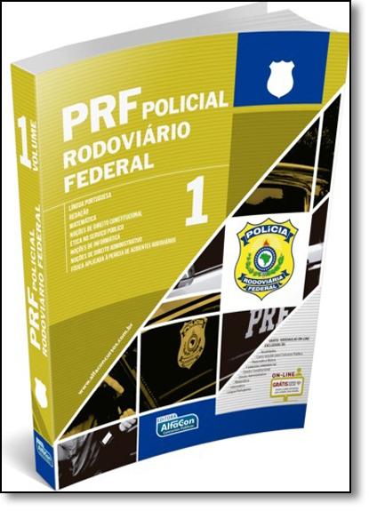 Prf Policial Rodoviário Federal - Vol.1, livro de Equipe Alfacon
