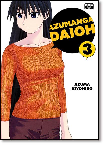 Azumanga Daioh - Vol.3, livro de Azuma Kiyohiko