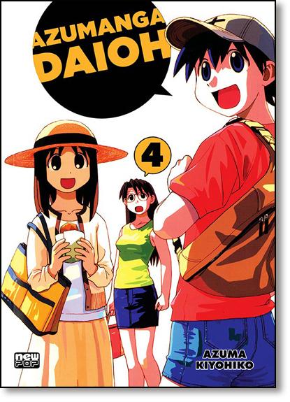 Azumanga Daioh - Vol.4, livro de Azuma Kiyohiko
