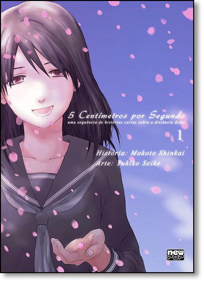 5 Centímetros por Segundo - Vol.1, livro de Makoto Shinkai